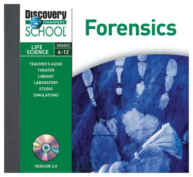 Discovery Education Forensics CD-ROM :Teaching Supplies:STEM and Career