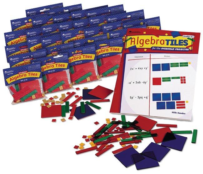 Algebra Tiles Classroom Set Algebra Tiles Class Set:Education Supplies