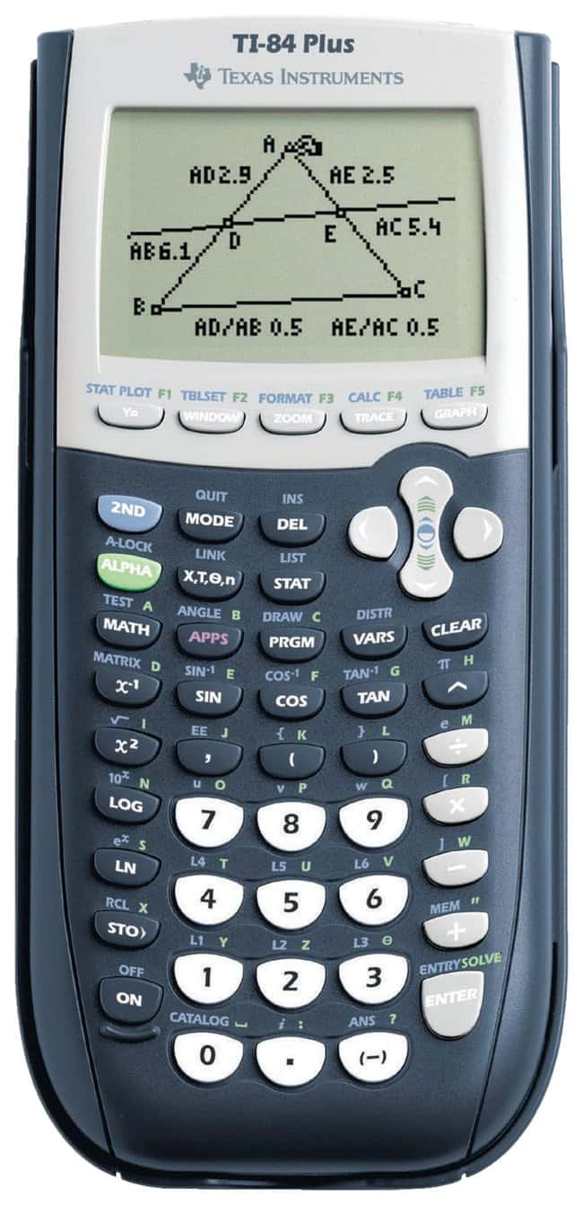 Texas Instruments™ TI-84 Plus and Plus Silver Calculators