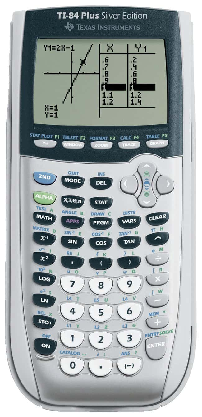 Texas Instruments TI-84 Plus and Plus Silver Calculators :Spectrophotometers,