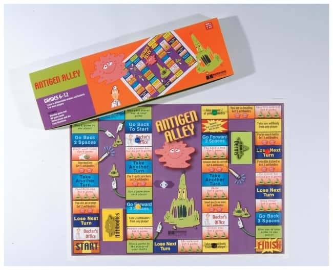 American Educational Products Antigen Alley Game  Antigen Ally Game:Teaching