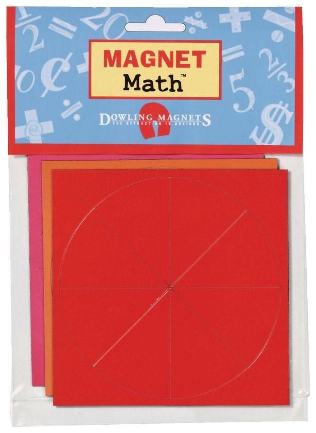 Magnet Math Magnet Fraction Shapes :Teaching Supplies:Physics Classroom