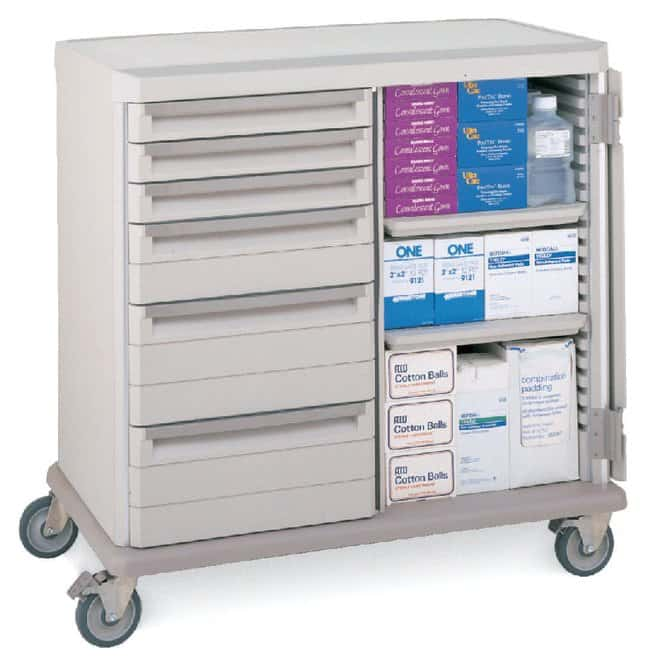 Metro™ Starsys™ Preconfigured Mobile Workstation, Supply and Exchange Cart