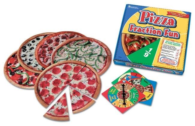 Pizza Fraction Fun Game Pizza Fraction Fun Game:Education Supplies
