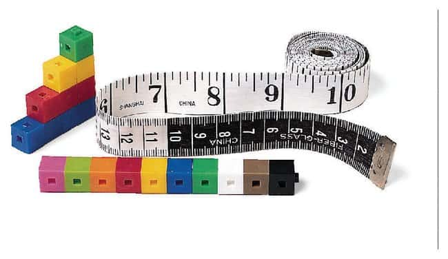 English/Metric Tape Measurer Eng/metric Tape Measure, Set 1:Education Supplies