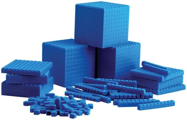 Base Ten Soft Interlocking Blocks :Teaching Supplies:Physics Classroom