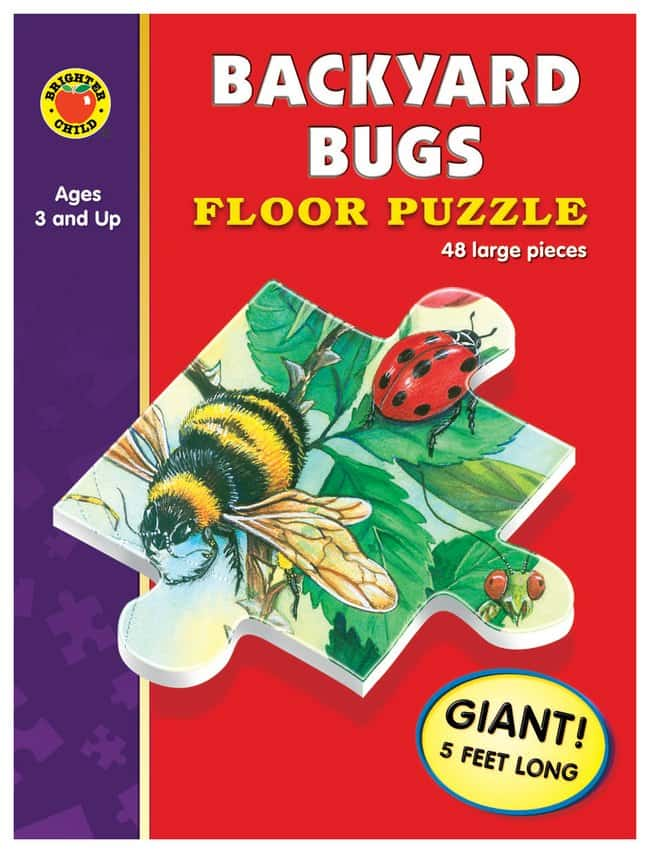 Brighter Child Giant Floor Puzzles :Teaching Supplies:Classroom Science