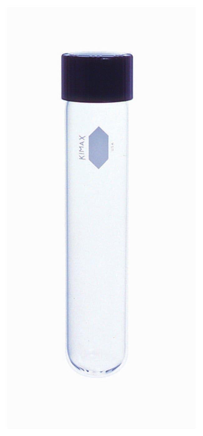 DWK Life SciencesKimble™ KIMAX™ Reusable Tubes with PTFE-Faced Rubber-Lined Screw Cap O.D. x L: 13 x 100mm DWK Life SciencesKimble™ KIMAX™ Reusable Tubes with PTFE-Faced Rubber-Lined Screw Cap