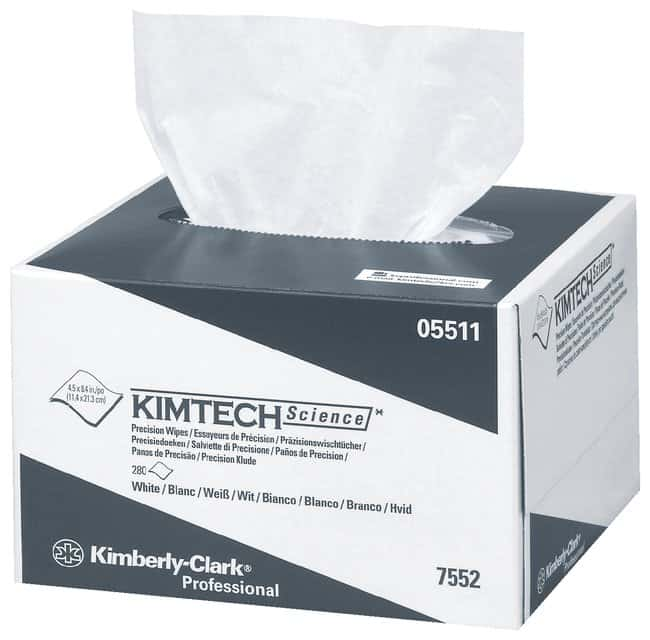 Kimberly-Clark Professional Kimtech Science Precision Wipes Tissue Wipers:Gloves,