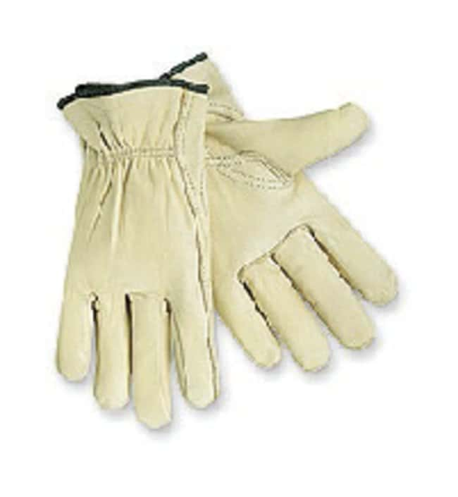 MCR Safety Select Cowhide Leather Drivers Gloves Medium:Gloves, Glasses