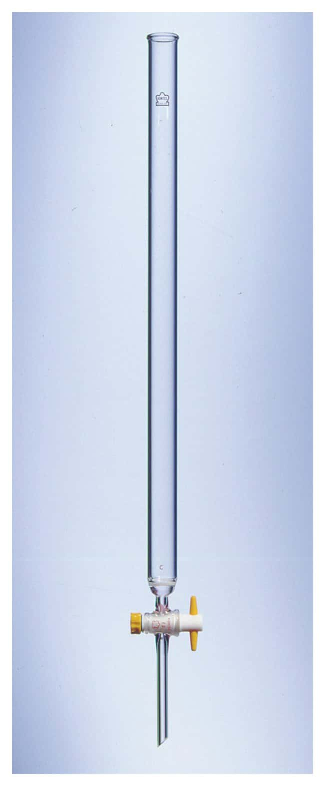 DWK Life Sciences Kimble™ Kontes™ PTFE-Plugged Columns I.D. x L: 25 x 300mm; Vol.: 140mL DWK Life Sciences Kimble™ Kontes™ PTFE-Plugged Columns