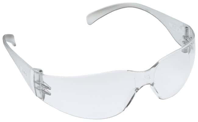 3M Virtua Eyewear Clear temples; Clear anti-fog lens:Gloves, Glasses and