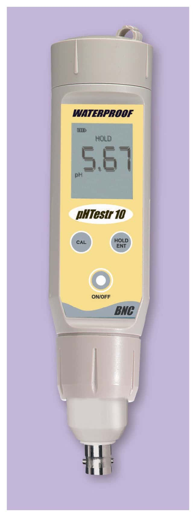 Waterproof Ph Meters : Oakton™ waterproof big display phtestr™ bnc