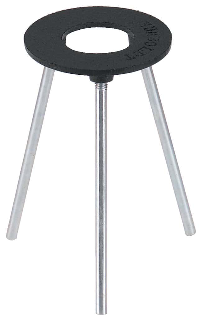 Fisherbrand Iron-Ring Tripods Ring I.D.: 3 in. (7.6cm):Clamps, Stands and