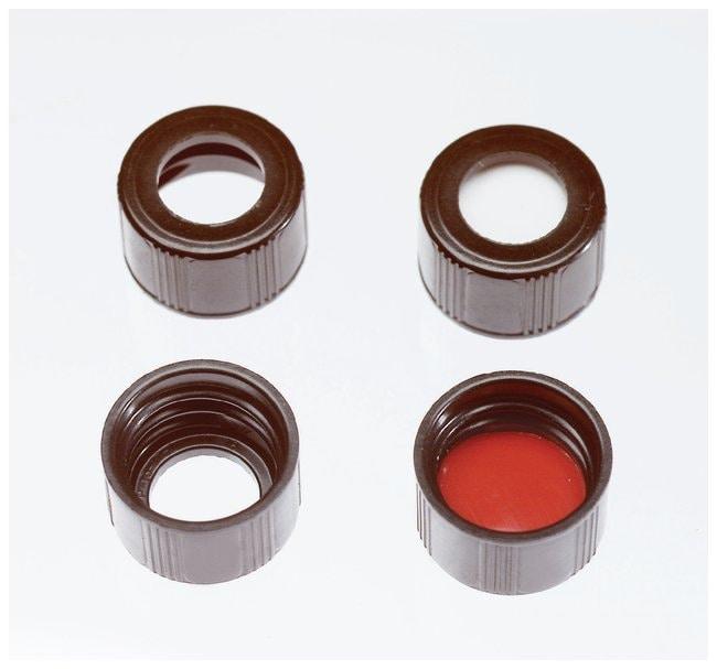 Thermo Scientific™Tapones de rosca montados National Scientific™ con septos insertados para viales de 4 ml: Viales, tapas y cierres de muestreadores automáticos Viales, tapas y cierres de muestreadores automáticos
