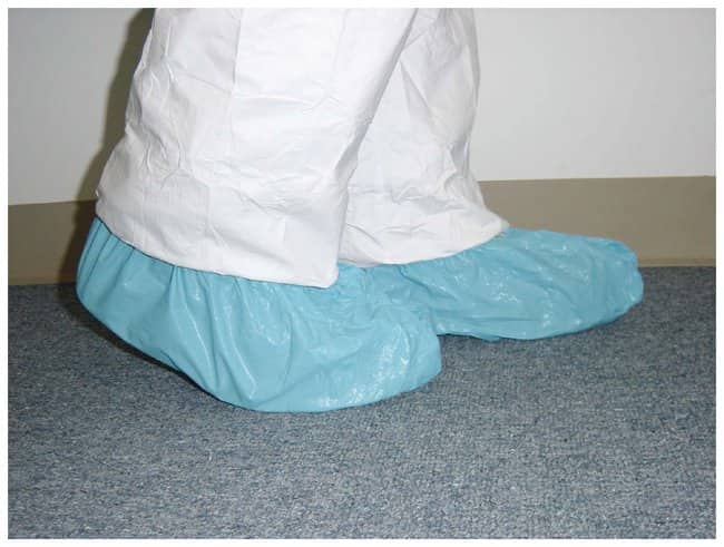 Fisherbrand Polylatex Shoe Covers:Gloves, Glasses and Safety:Lab Coats,