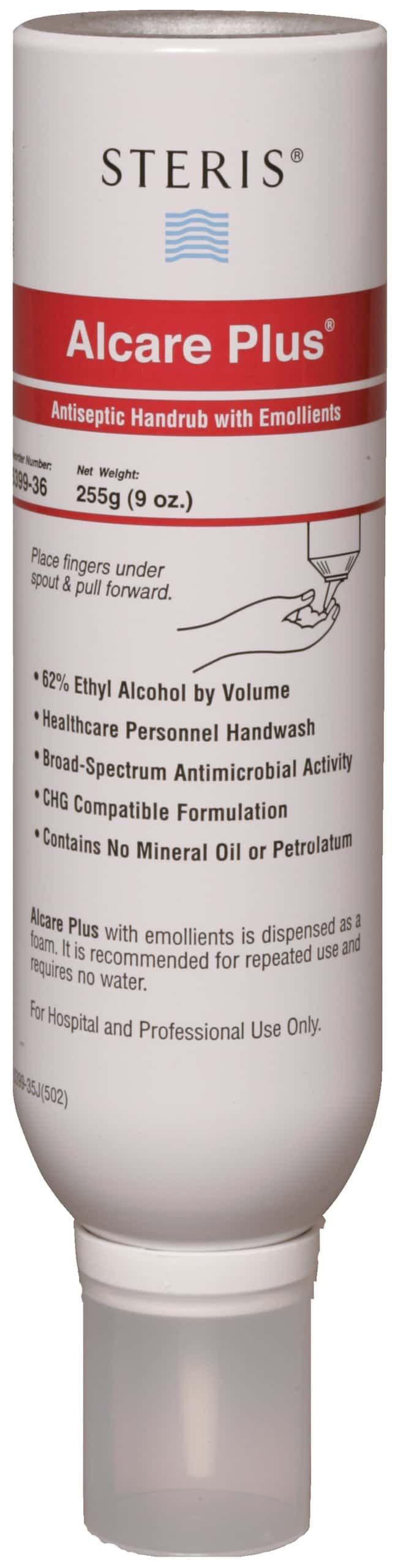 Steris Alcare Plus Antiseptic Handrub with Emollients:Gloves, Glasses and