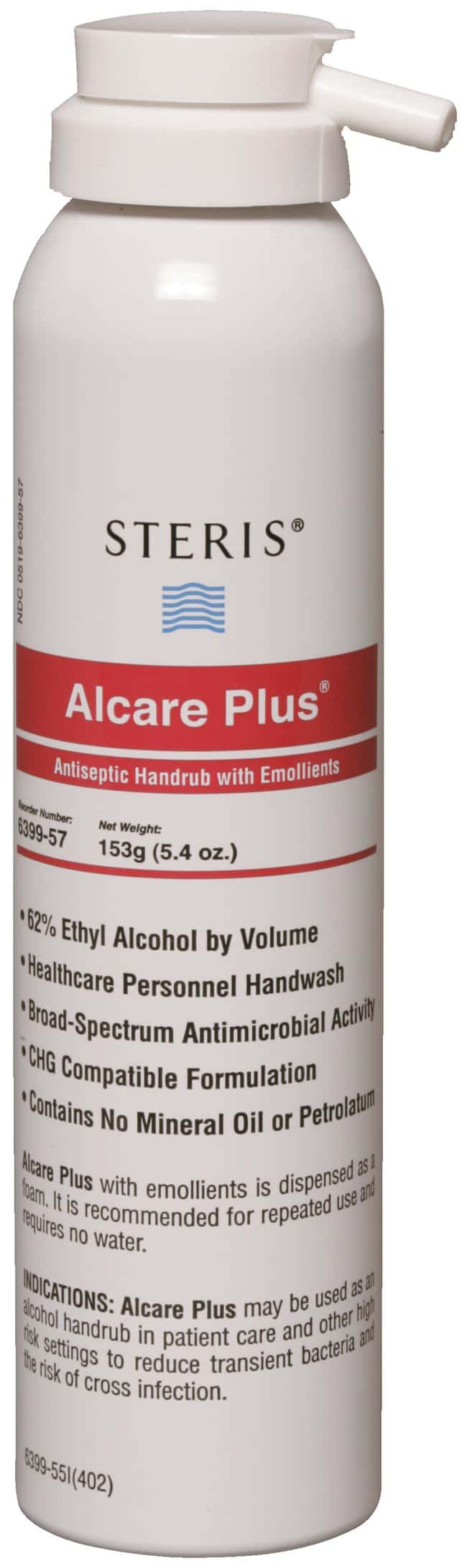 Steris Alcare Plus Antiseptic Handrub with Emollients 5-3/8 oz. (160mL):Gloves,