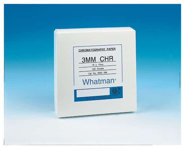 GE Healthcare Whatman 3MM Chr Chromatography Paper PROMO Sheet; 20 x 25cm:Chromatography