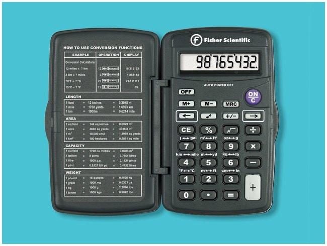 fisherbrand compact converter calculator converter calculator