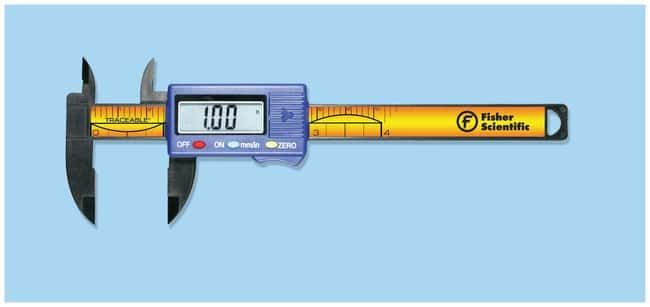 Fisherbrand Traceable Digital Carbon Fiber Calipers  Range: 0 to 100mm;