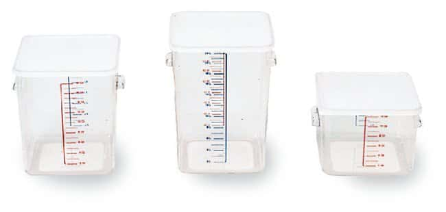 Rubbermaid Carb-X Containers :Teaching Supplies:Classroom Science Lab Equipment