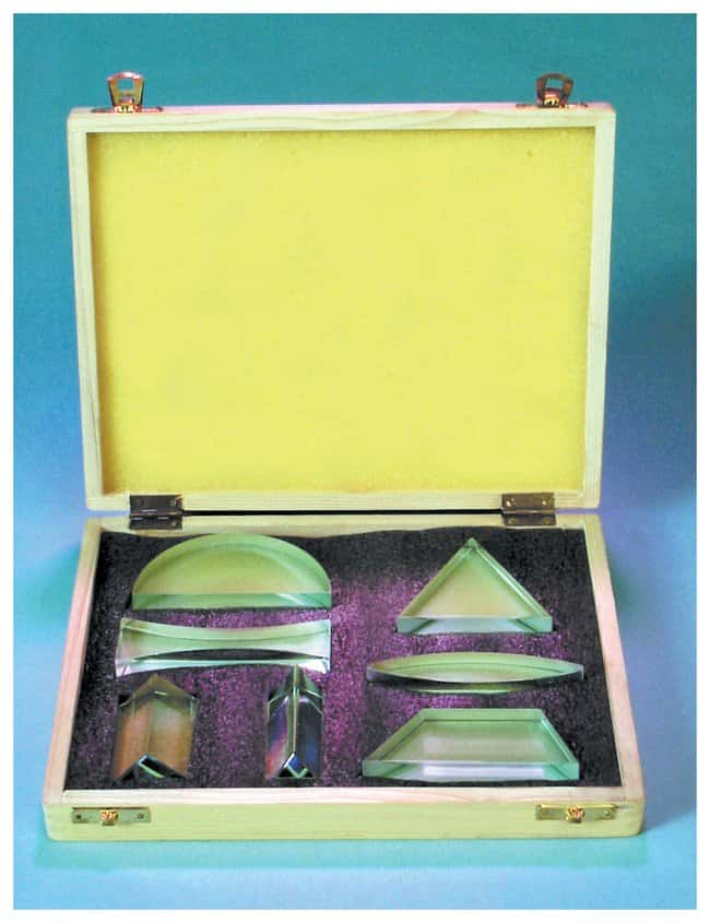 United Scientific Supplies Prism and Lens Sets