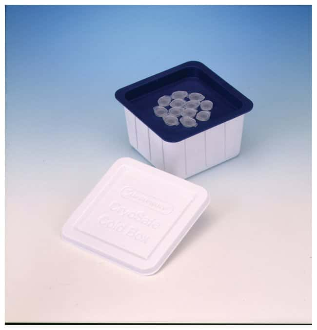 Bel-Art™ Caja para frío SP Scienceware™ Cryo-Safe™ Internal 12 place support for 1.5mL microcentrifuge tubes Classroom Ice