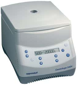 Eppendorf 022620498 5424 Microcentrifuge with Keypad Controls for 24-place 1.5//2.0mL Microcentrifuge Tubes 120V//60Hz