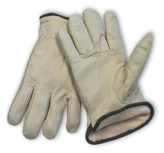 PIPTop Grain Cowhide Leather Glove with 3M Thinsulate Lining Small; Red:Personal