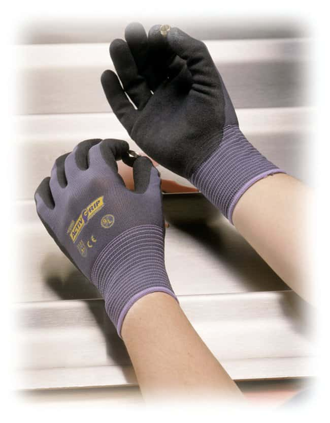 PIPTOWA ActiveGrip Advance Nitrile-Coated Gloves Size: Large:Personal Protective