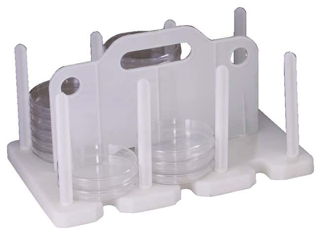Bel-Art SP Scienceware Contact Plate / Petri Dish Rack:Teaching Supplies:Classroom