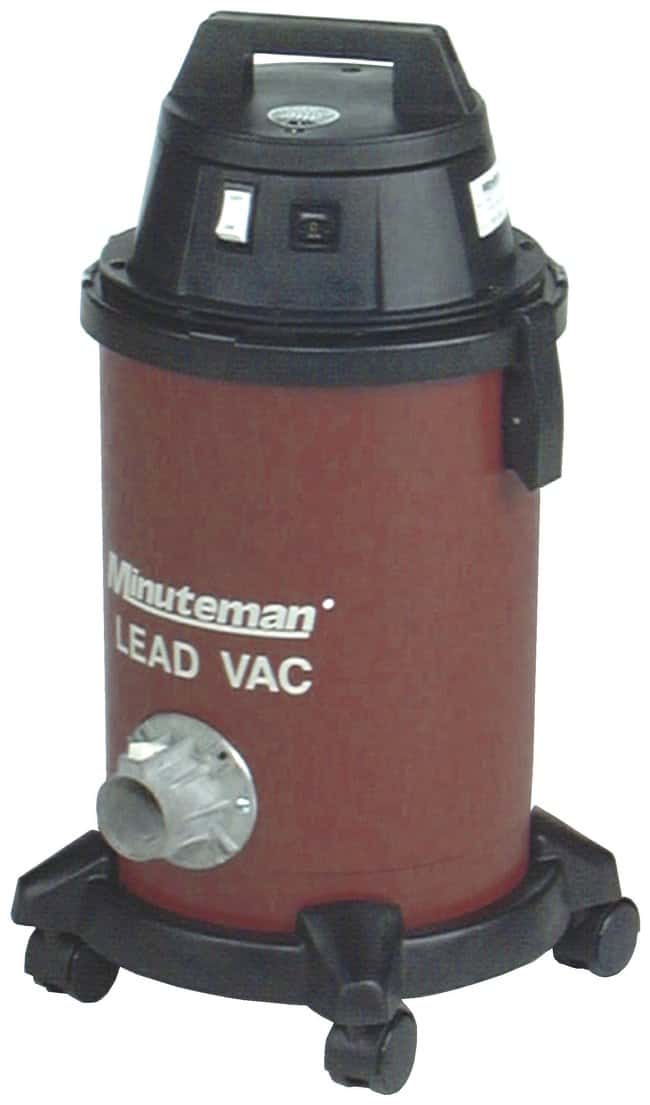 Minuteman Lead Vacuum  HEPA-filtered:Gloves, Glasses and Safety