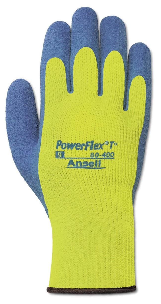Ansell™ Powerflex™ 80-400 Series Natural Rubber Latex Heavy Weight Gloves Size: 10 Products