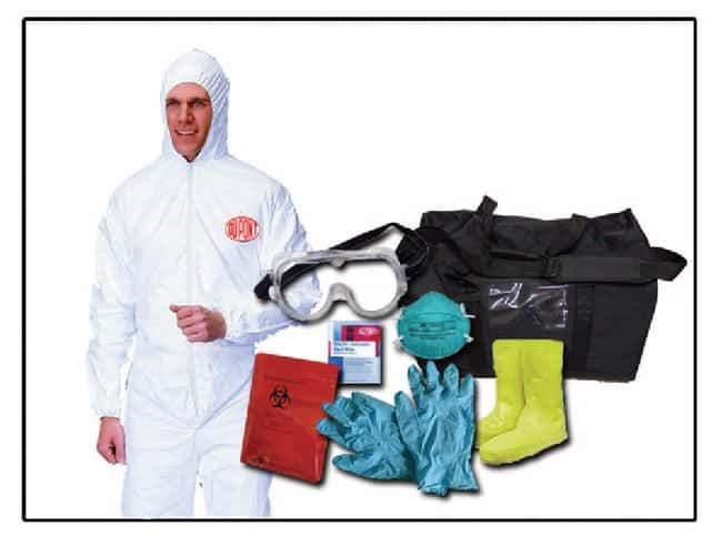Safety Solutions Flu PPE Kits :Gloves, Glasses and Safety:First Aid and