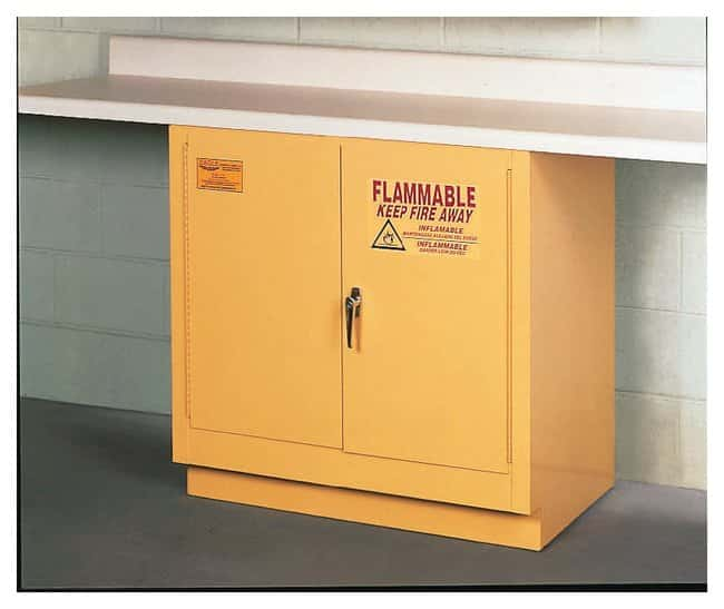 Eagle Flammables Undercounter Cabinet:Gloves, Glasses and Safety:Hazardous