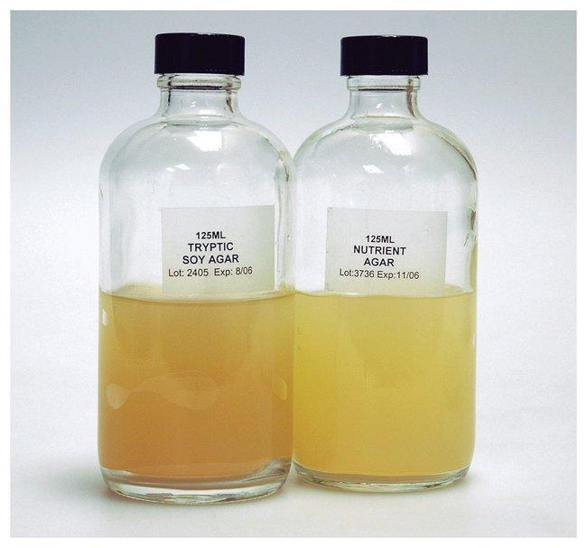 Prepared Culture Media in Bottles :Teaching Supplies:Biology Classroom