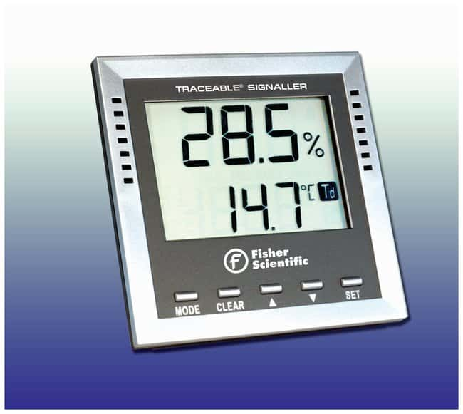 Fisherbrand™ Traceable™ Dew-Point/Wet-Bulb/Humidity/Thermometer Dew-Point/Wet-Bulb/Humidity/Thermometer; Range: -40° to +70°C Classroom Thermometers