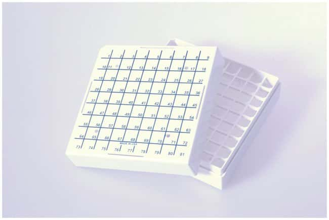 FisherbrandCryogenic Vial Storage Boxes For 1.2 to 2.0mL vials:BioPharmaceutical