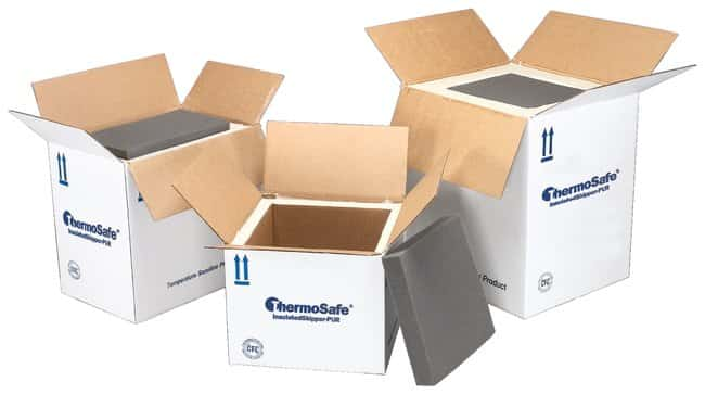 Sonoco ThermoSafe Insulated Shipper-PUR Containers: 2 in. Thick:Racks,