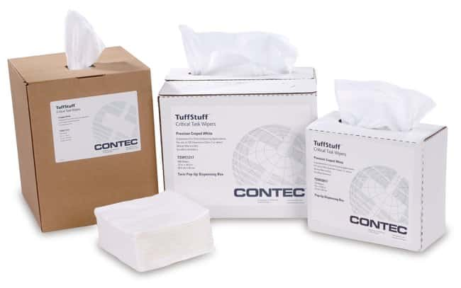 Contec TuffStuff Critical Task Wipes:Gloves, Glasses and Safety:Controlled