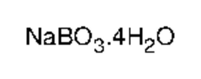Sodium Perborate Tetrahydrate, Reagent Grade, Alfa Aesar™ 25g Sodium Perborate Tetrahydrate, Reagent Grade, Alfa Aesar™