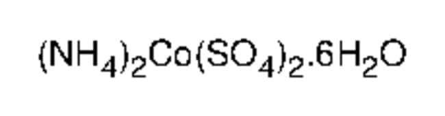 Alfa Aesar™Ammonium cobalt(II) sulfate hexahydrate, 99+% 500g Alfa Aesar™Ammonium cobalt(II) sulfate hexahydrate, 99+%