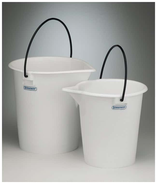 Bel-Art SP Scienceware Heavy Duty Pail:Wipes, Towels and Cleaning:Buckets