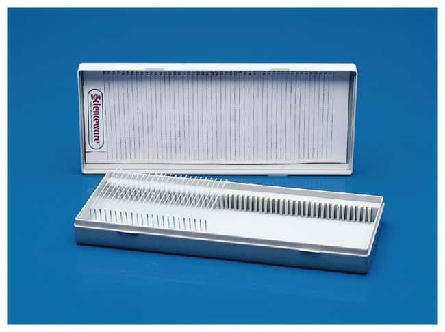 Bel-Art SP Scienceware Slide Boxes  Capacity: 25 slides:Microscopes, Slides