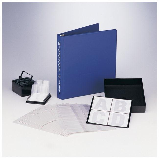 Bel-Art SP Scienceware View-Pack Microscope Slide Holder with Ring Binder