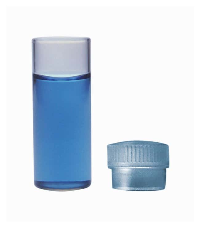 DWK Life Sciences Kimble™ ShellVial with N-51A Borosilicate Glass Plain Top 1 dr.; With unattached closure DWK Life Sciences Kimble™ ShellVial with N-51A Borosilicate Glass Plain Top