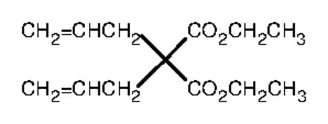 diethyl diallylmalonate ring closing metathesis The main purposes of the experiments were to synthesize 1a and 1b, confirm their structures via 1 h, 31 p, and ir spectroscopy, and to determine their relative catalytic rates during ring closing metathesis of diethyl diallylmalonate.