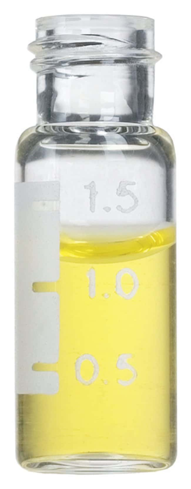 Restek 9mm Short-Cap, Screw-Thread Vials:Chromatography:Autosampler Vials,