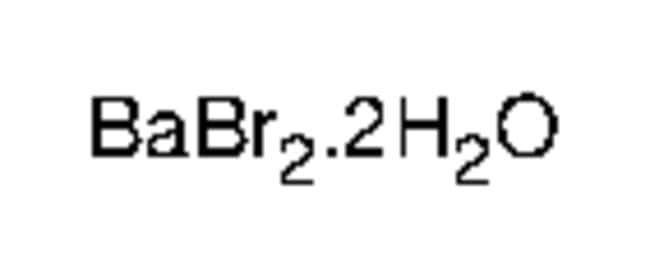 Alfa Aesar™Bariumbromid-Dihydrat, Puratronic™, 99.999% (Metallbasis) 5g Alfa Aesar™Bariumbromid-Dihydrat, Puratronic™, 99.999% (Metallbasis)